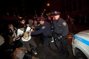 NYPD Raids Zuccotti Park At 2 A.M. And Clears Out Protesters