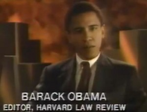 "Wow: Old 1991 Video of Barack Obama's ""Black History Minute"""