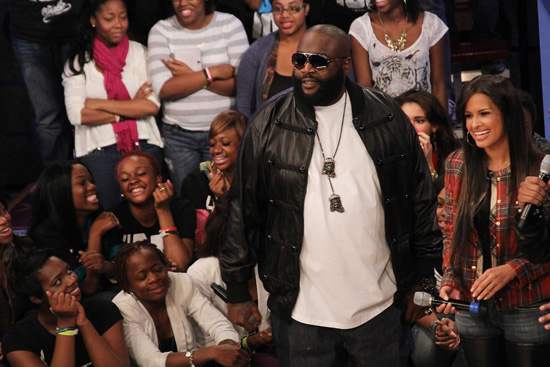 Rick Ross Visits 106 and Park, Explains How Lack of Sleep Caused Seizures