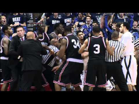'We Got Disrespected': Xavier and Cincinnati Basketball Players Brawl On Court