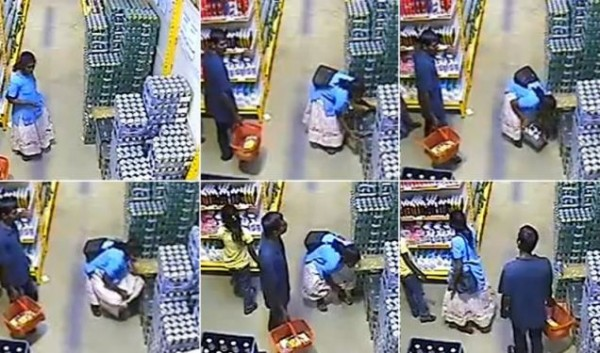 Woman Shoplifts A CASE of Beer By Hiding It Between Her Legs [VIDEO]