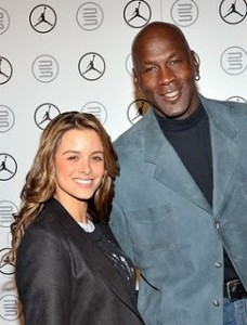 Michael Jordan Pops the Question