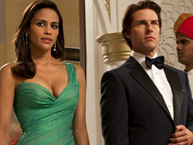 Paula Patton and Tom Cruise Score a Hit with Mission: Impossible – Ghost Protocol