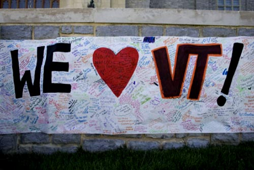 Shots fired at Virginia Tech; Officer Reported Shot