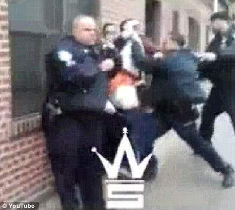 Four New York cops caught on camera viciously beating and kicking teenage drug suspect [VIDEO]