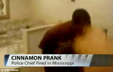 Police Officers fired for 'forcing mentally disabled teen to do cinnamon challenge' [VIDEO]