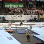 86-year-old performs parallel bars routine [VIDEO]