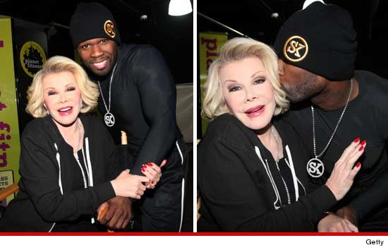 New Odd Couple: Joan Rivers and Music Mogul 50 Cent