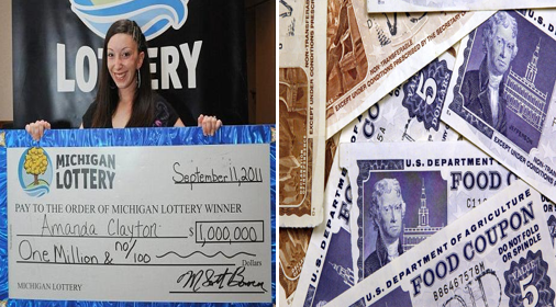 Million Dollar Lottery Winner Still On Welfare