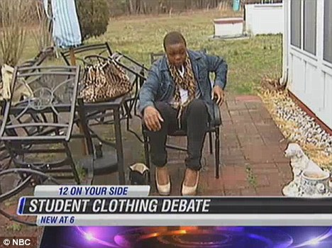 Male High School Student Suspended For Wearing High Heels To School