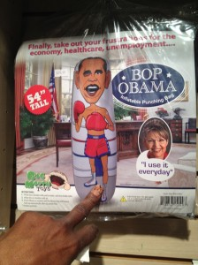 """Bop"" Barack Obama Punching Bag"