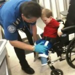 Toddler In A Wheelchair Searched Extensively for Explosives [VIDEO]
