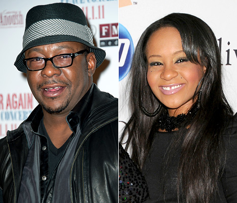 Bobbi Kristina And Bobby Brown Reunite for Lunch in NYC