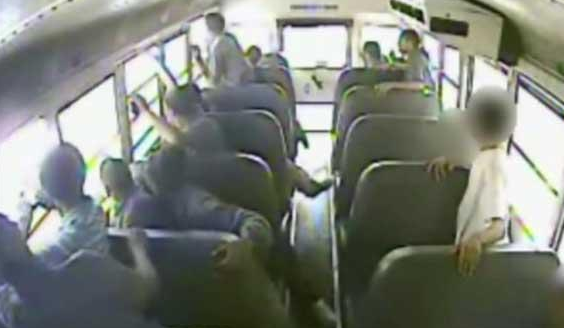 Watch Some Fool Shoot At A School Bus Full Of Children [VIDEO]