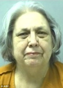 Grandmother, 71, charged with anti-gay hate crime for attacking man, 25, with her cane