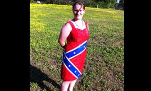 Student Banned From Prom For Confederate Flag Dress [VIDEO]