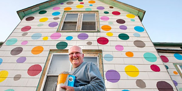 Would You Like This Polka Dot House Next Door: Awesome or Eyesore?
