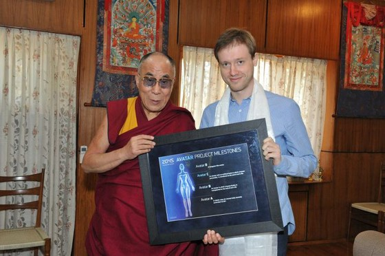 The Dalai Lama Signs Off on Immortality Project to Put Human Brains Into Robots