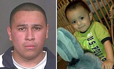 Man who 'beat two-year-old boy to death' for not eating his dinner turns himself in