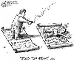 Stand Your Ground Law Makes It Legal To Kill Black Men In Florida.