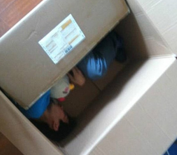 Man Almost Died Attempting To 'Ship' Himself To Girlfriend In A Box