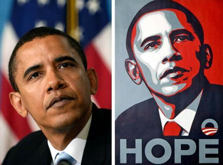 Man Who Created Obama's Hope Poster Nearly Goes to Jail