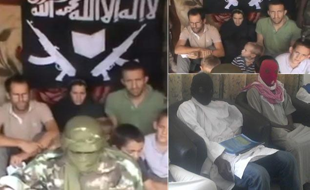 Video shows 7 French hostages, including children, allegedly kidnapped by radical Islamic sect
