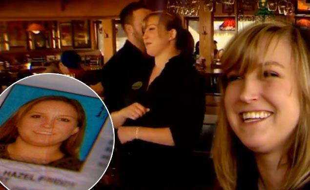 Is this the dumbest case of identity theft ever? Meet the waitress who was handed her own ID by a boneheaded customer