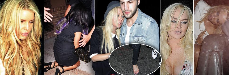 Late night out? Stars who look worse for the wear