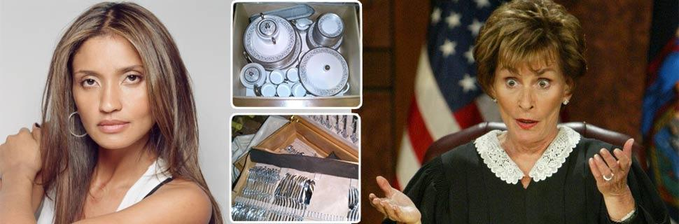 Ex-friend of Judge Judy: I'll drop lawsuit if you give back my china set