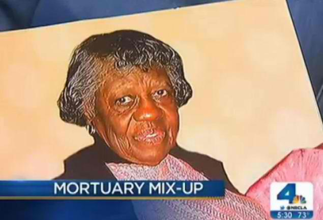 Wrong woman buried following Calif. mortuary mix-up
