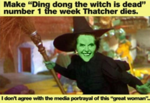 BBC 'witch song' insult to Maggie: Corporation to play single driven up by Thatcher haters