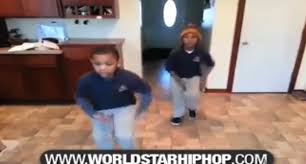 These 2 Little Boys Got Their Stepping Skills On Point To Pharrell Williams ' Happy ' Song