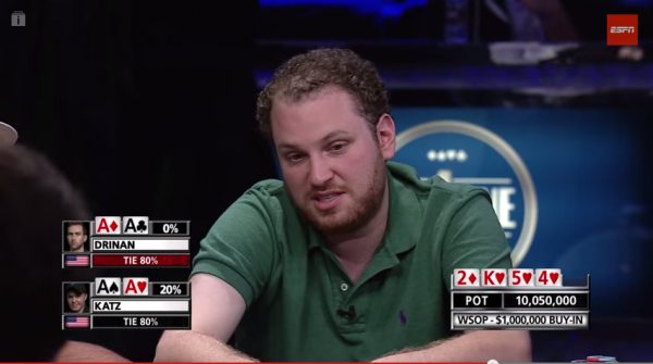Poker Player Loses $1 Million After Incredible Bad Beat