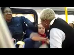 Bus Driver Fights Student on Bus